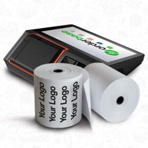 Orderbase Branded Till Rolls